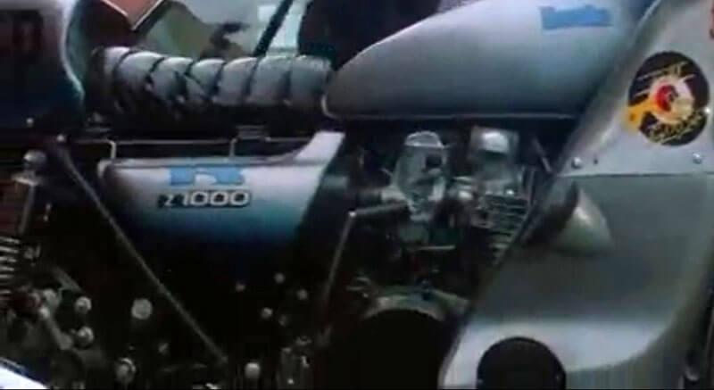 Mad Max 1979 Kawasaki z1000 Goose