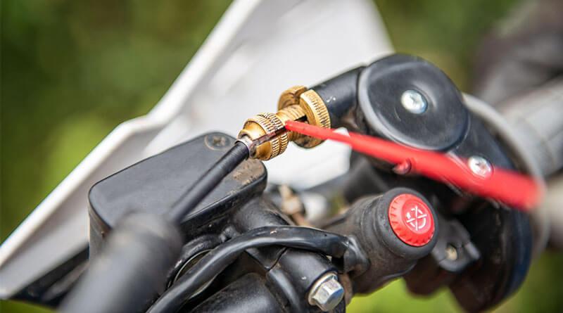 Motorkerékpár rendszeres karbantartás