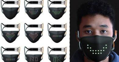 LED arcmaszk JabberMask