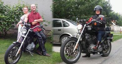 Meszesné Klári Harley Girl