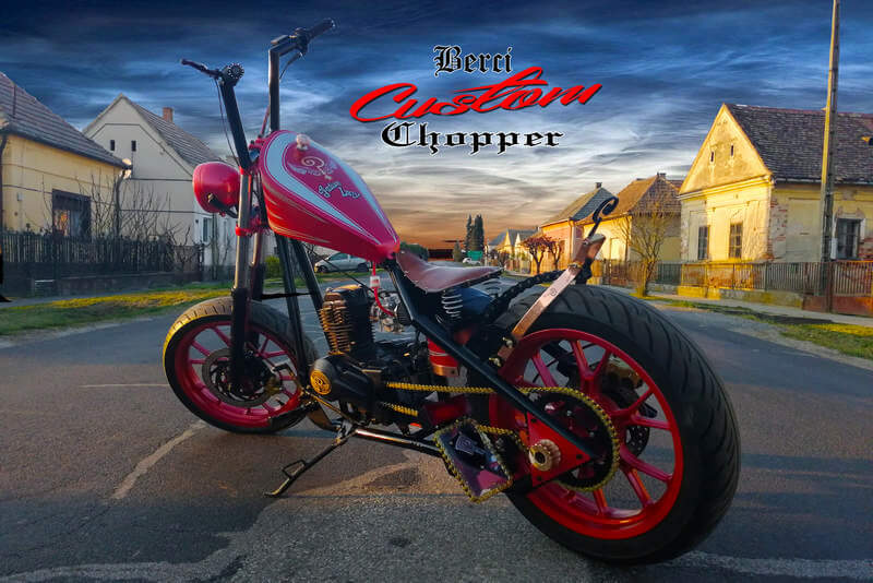 Indian Larry motor