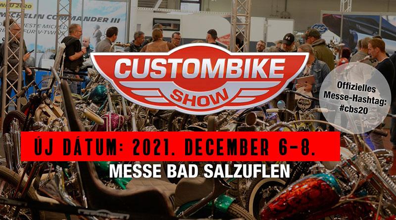 Elmarad a Custombike Show Németországban