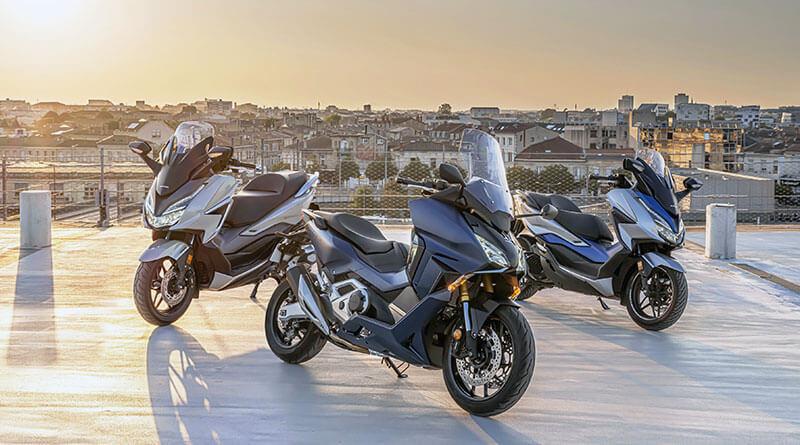 Honda Forza family 2021