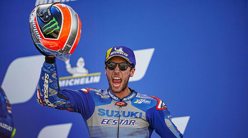 Alex Rins Nolan X-lite MotoGP