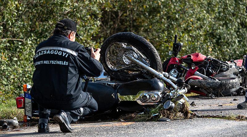 Benkovics Éva és Benkovics Gábor halálos motorbaleset