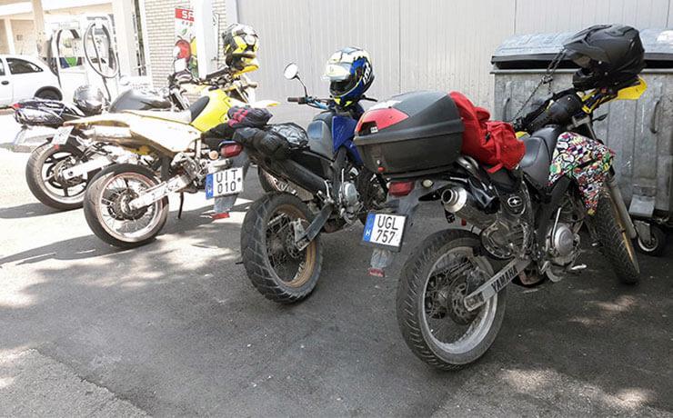 Bátai Aranka motoros futár és szerelő