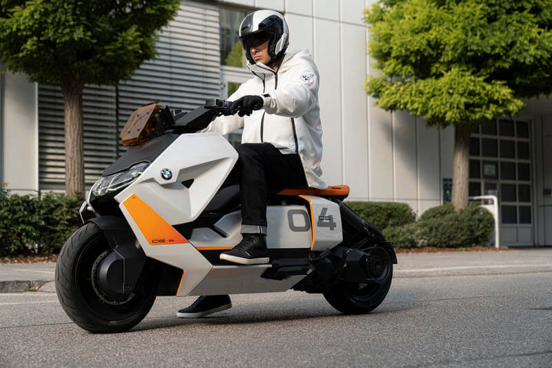 BMW Motorrad Concept Definition CE 04