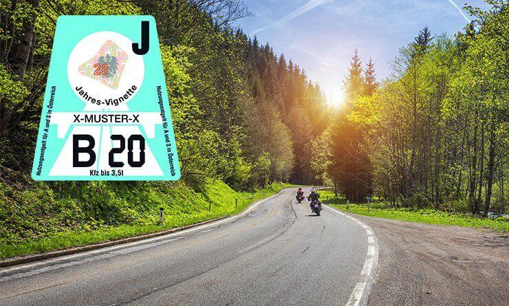 Osztrák autópálya matrica díjak 2021