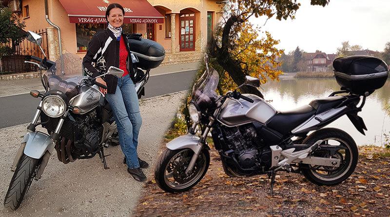 Palatin Katalin Honda CBF 600N