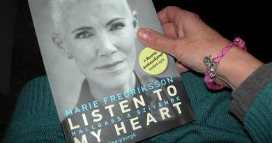 Hallgass a szívemre Marie Fredriksson, a Roxette énekesnőjének életrajzi könyve