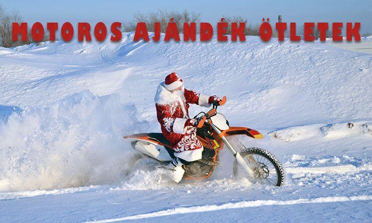 Motoros ajándék ötletek karácsonyra a csamshop-ból