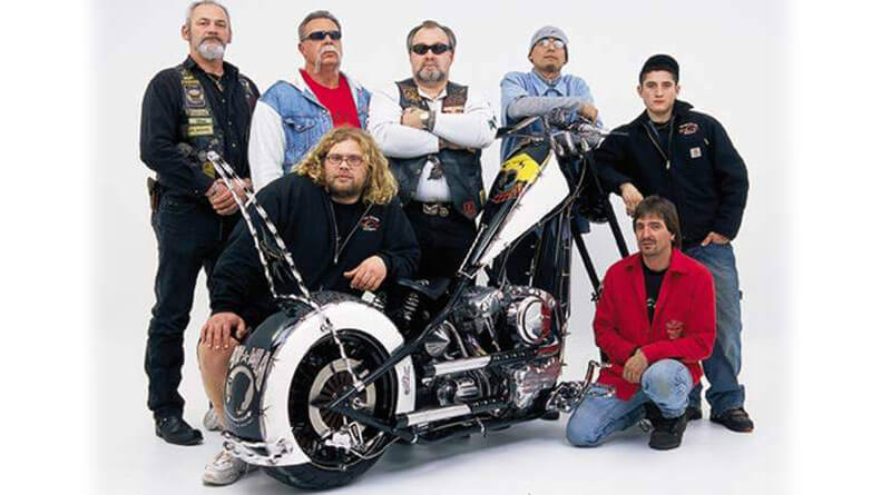 Orange County Choppers Pow Mia Tribute