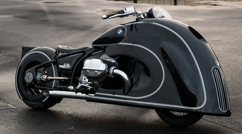 BMW R 18 Spirit of Passion átépítés