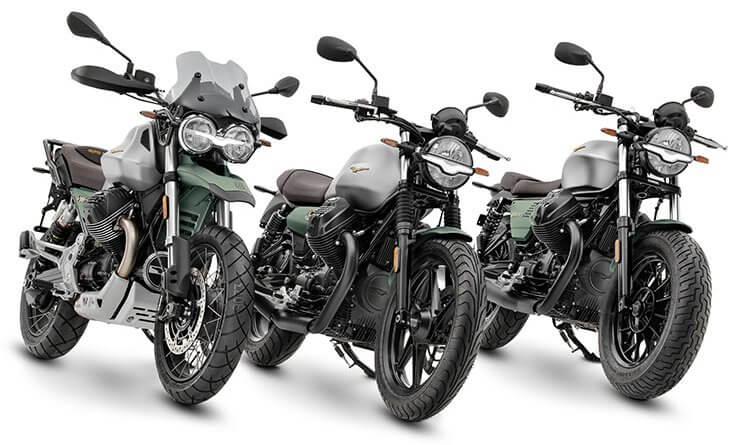 100 éves a Moto Guzzi új modellek 2021