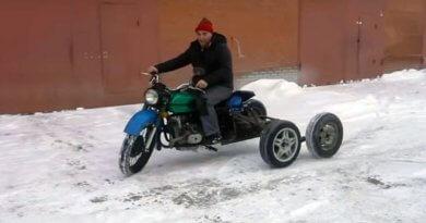 Ötlekekű Ural ATV