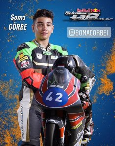 Görbe Soma Red Bull Rookie Cup