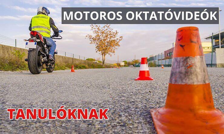 Motoros Oktatóvideók Tanulóknak és Oktatóknak