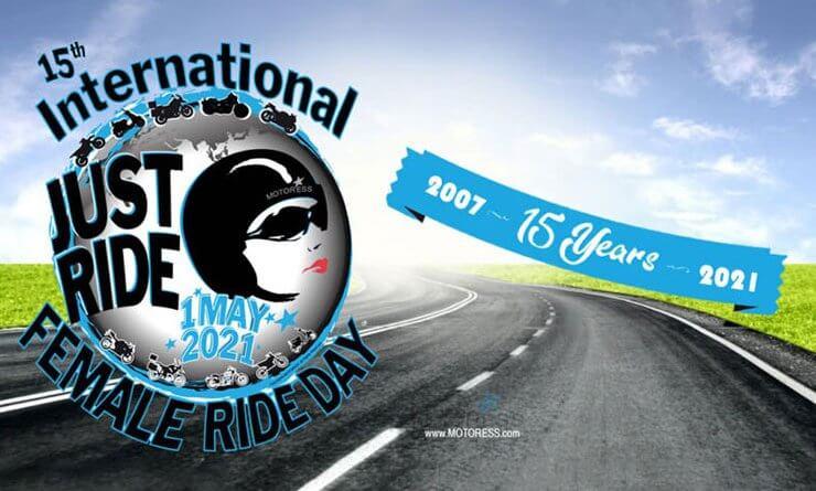 15. Nemzetközi Női Motoros Nap logó