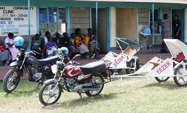Afrikai mentőmotorosok