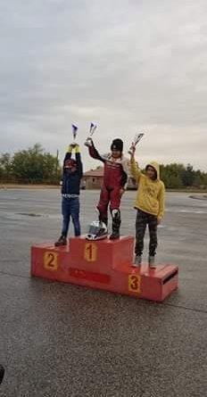 Barta Korina Pitbike versenyző