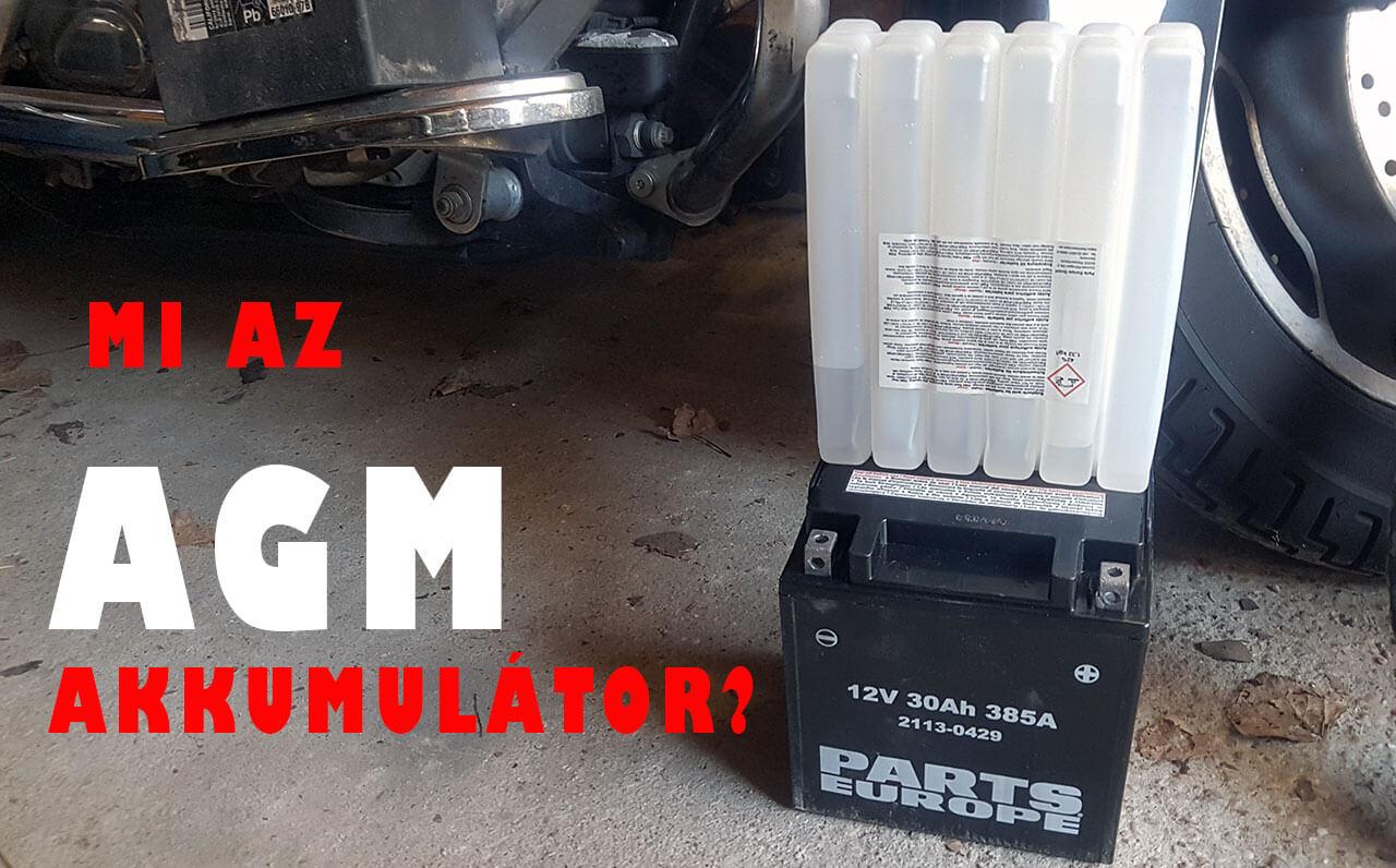 Parts Europe AGM Akkumulátor harley-davidsonba