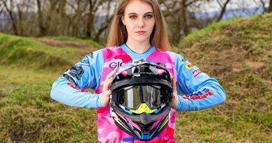 Gál Lili #4 motokrossz versenyző