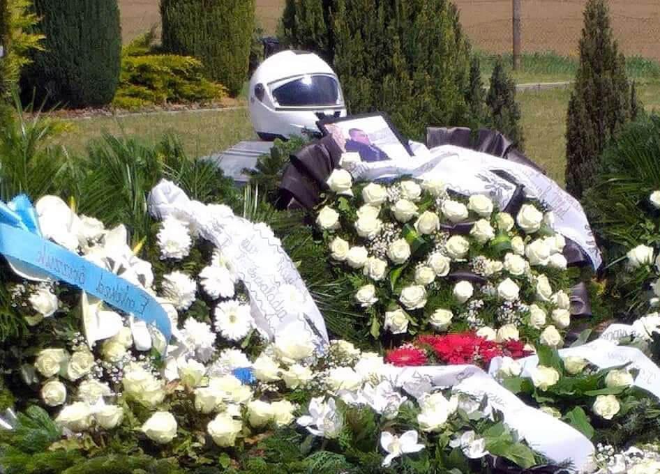 Horváth Miklós Motoros Rendőr temetése