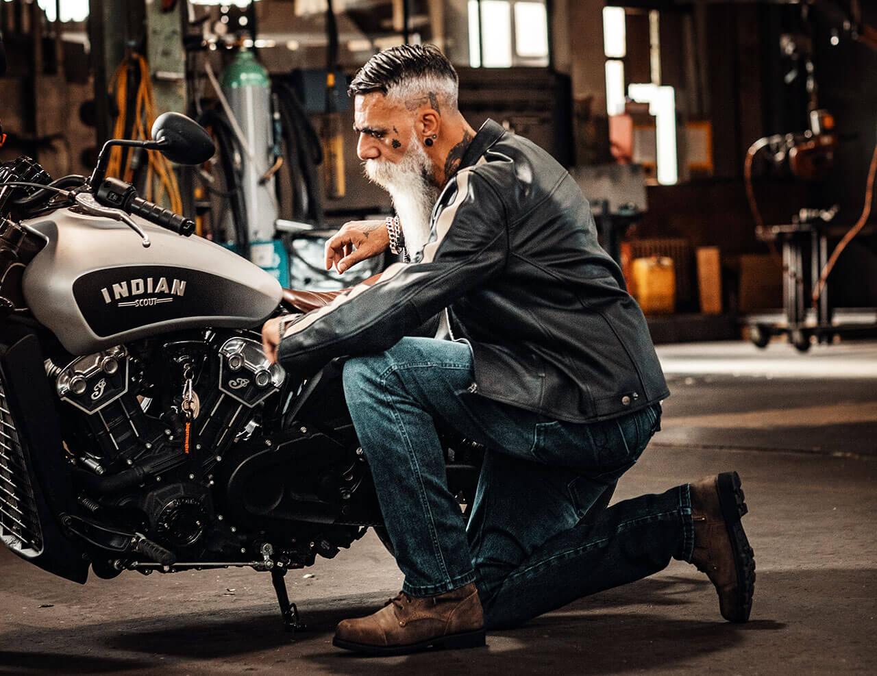 iXS Classic AR jeans motoros farmer