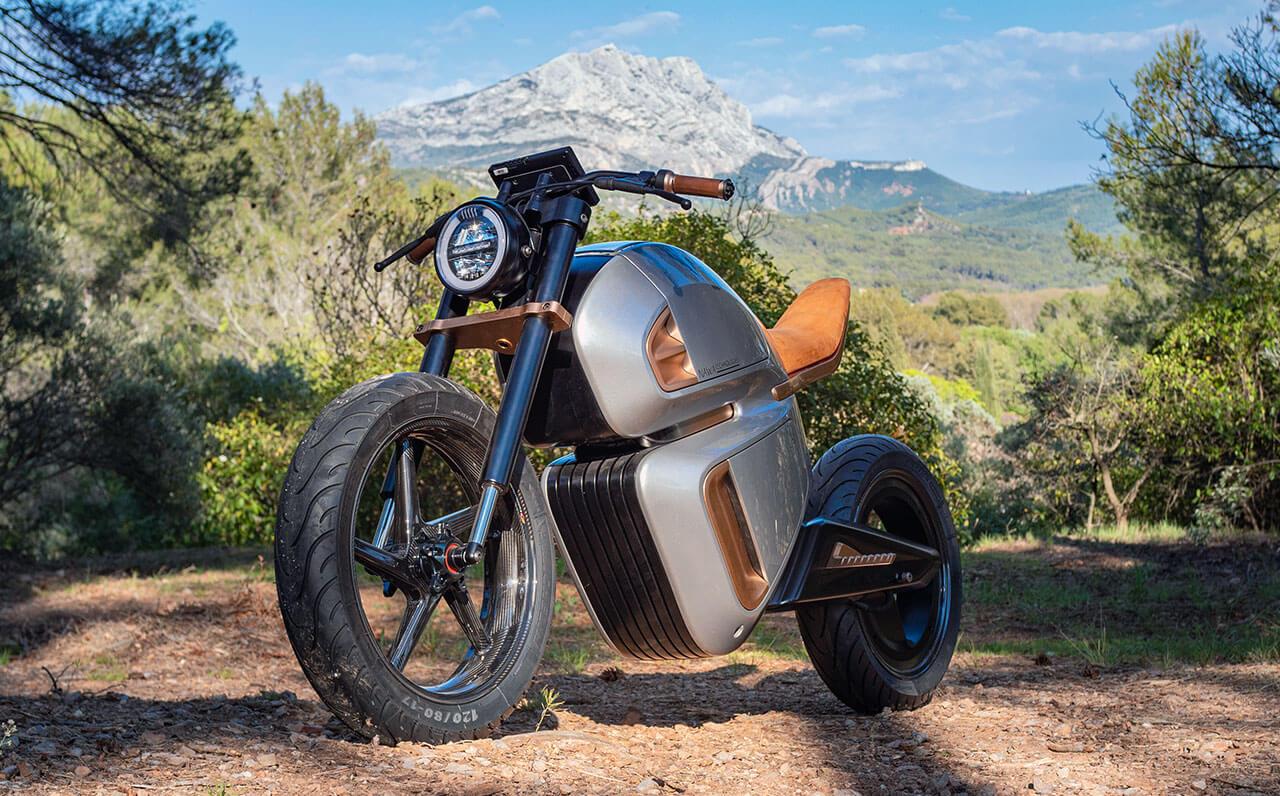 NAWARacer elektromos motorkerékpár koncepció