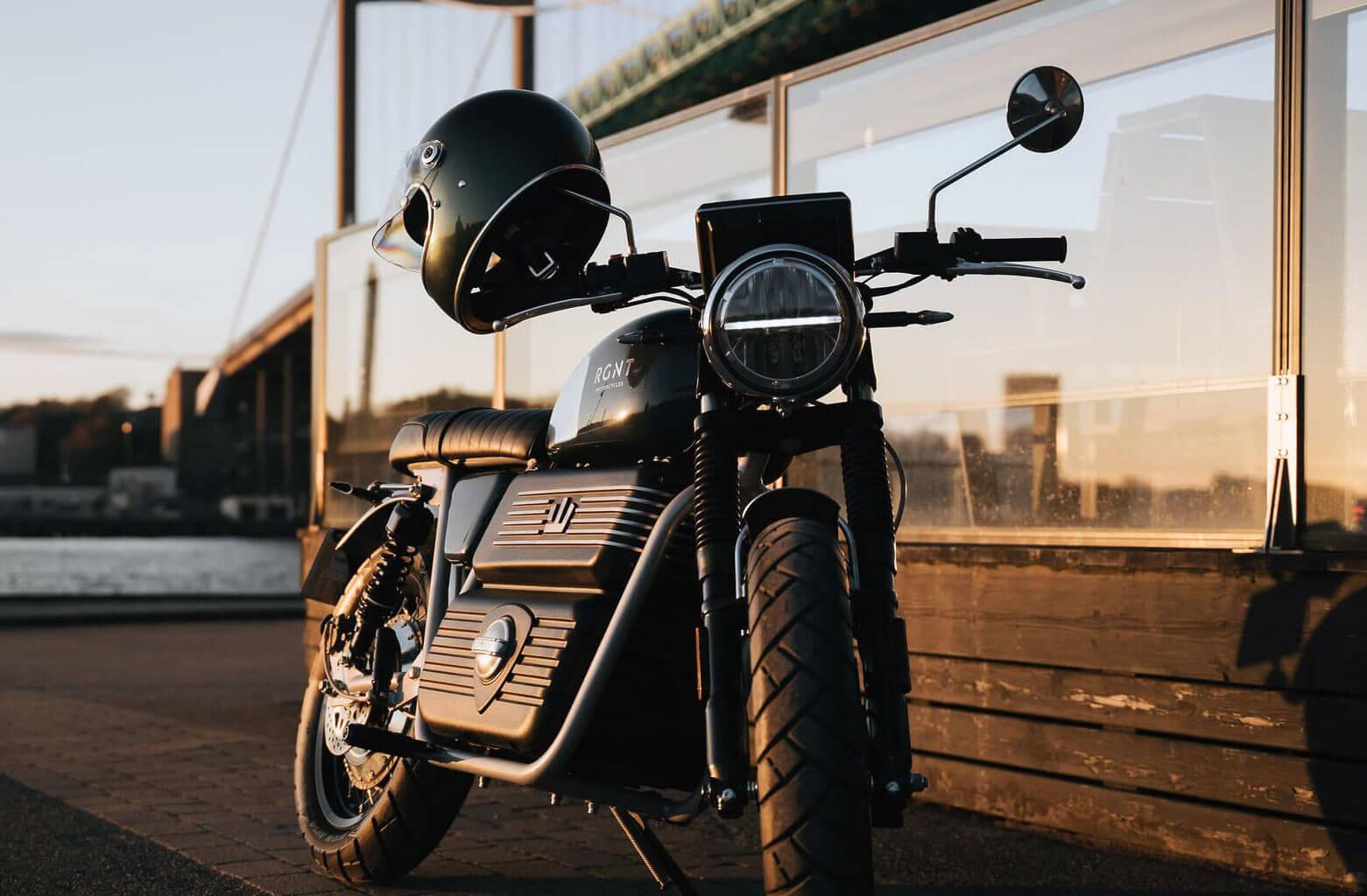 RGNT Scrambler No1 elektromos motorkerékpár