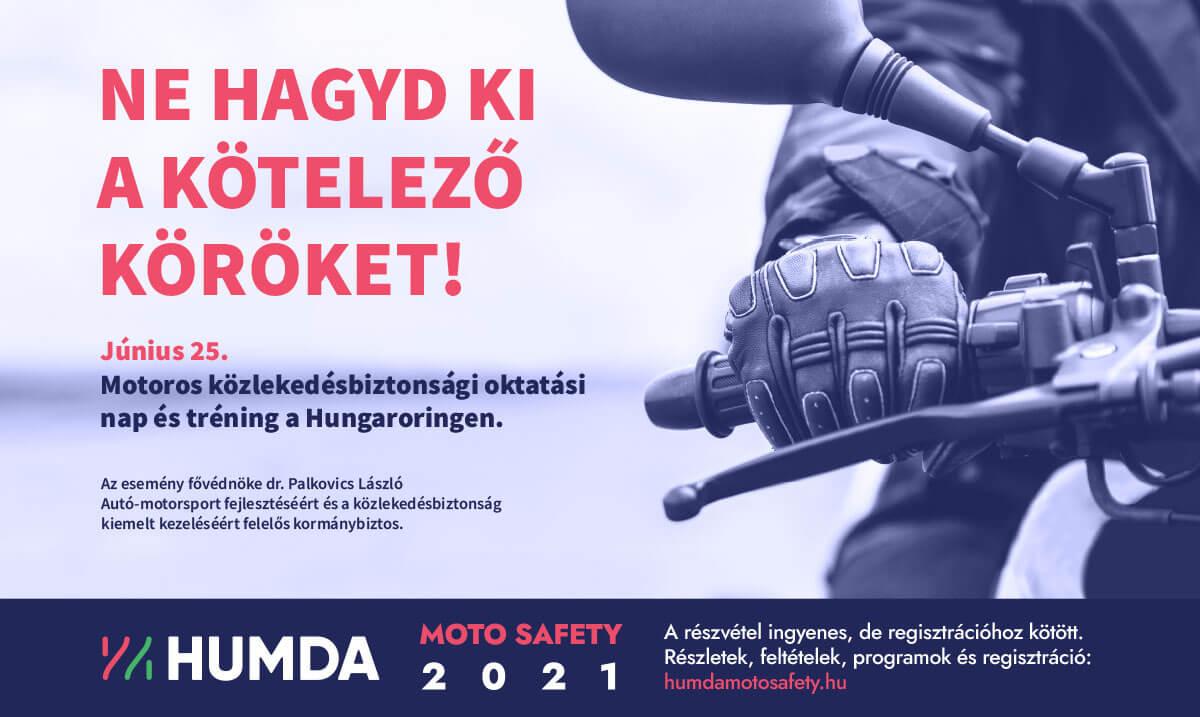 HUMDA közlekedésbiztonsági nap 2021