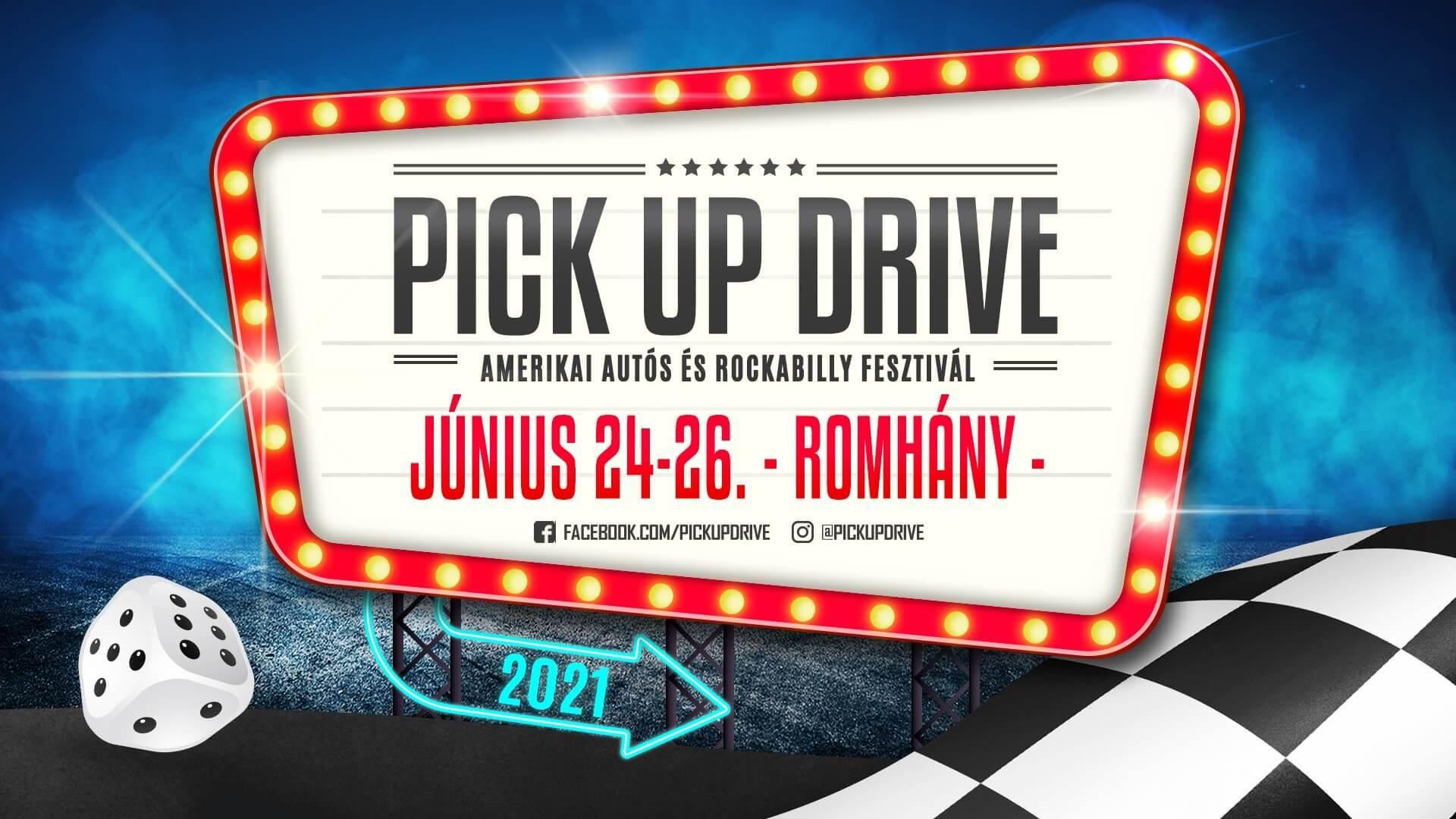 VI. Pick Up Drive Amerikai Autós & Rockabilly Fesztivál