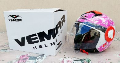 Vemar Breeze Camo rózsaszín motoros bukósiak