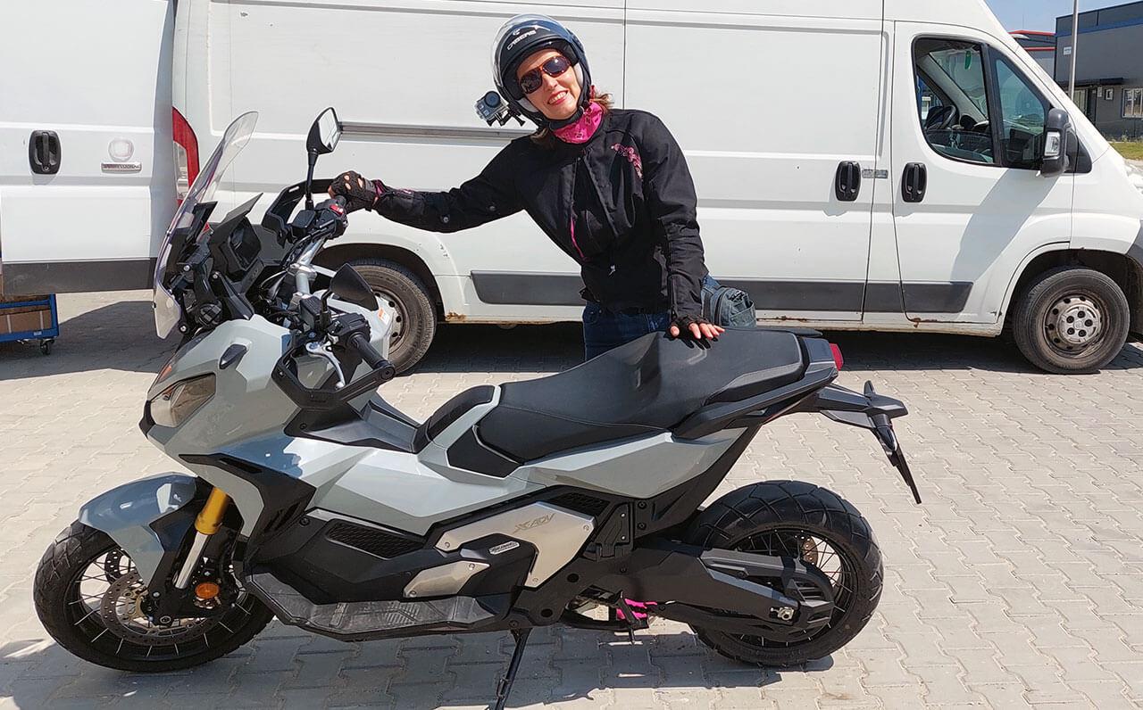 Honda X-ADV 750 2021 teszt