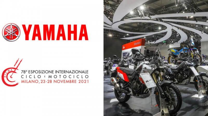 Yamaha az Eicmá-n 2021 novemberben