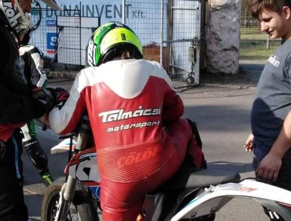 Takó Bíborka Dominika gyorsasági motorversenyző