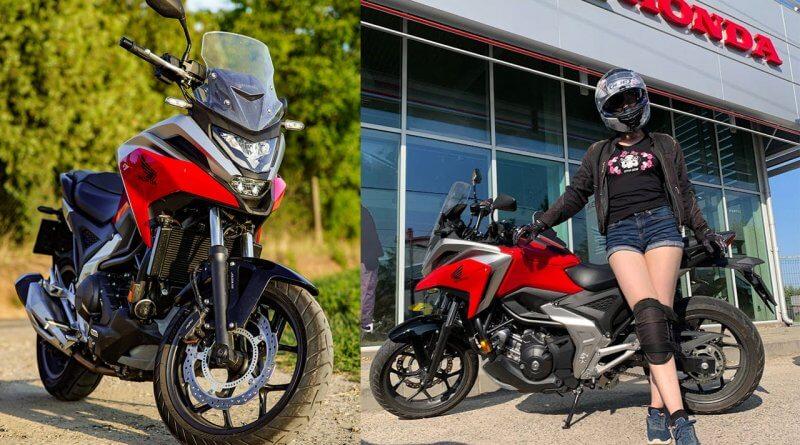 Honda NC750X 2021 teszt