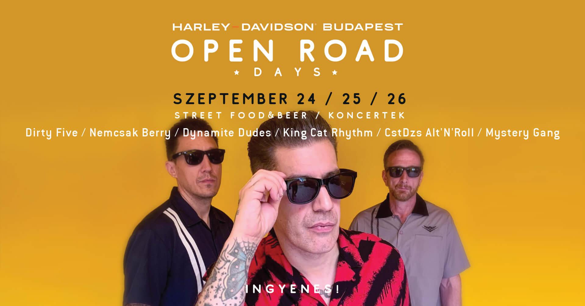 Pan America Teszthétvége & Open Road Days