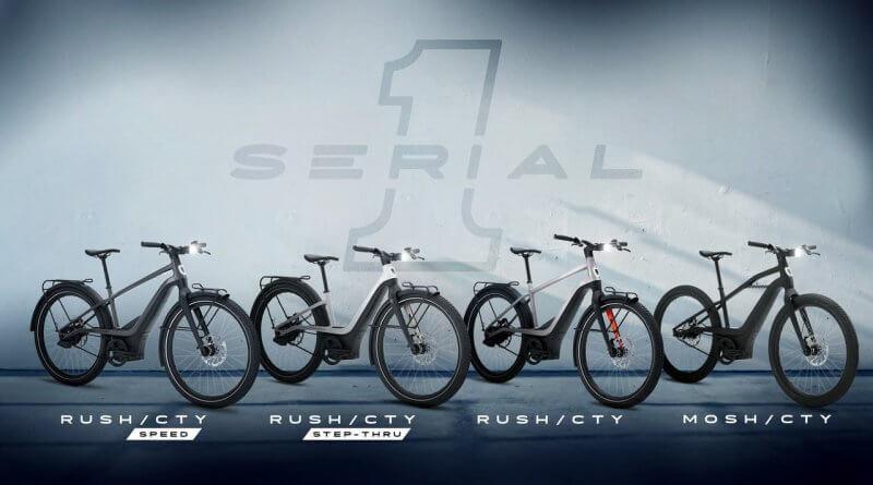 Serial 1 elektromos kerékpár