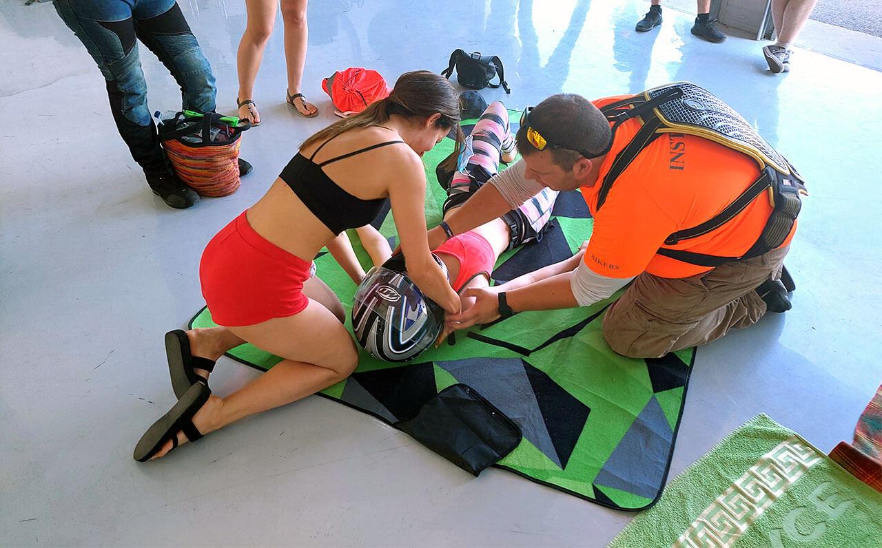 X-Aid Bikers And Ride Garage Nagytartcsa