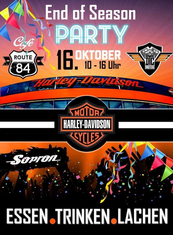 Szezonzáró Buli Harley-Davidson Sopron