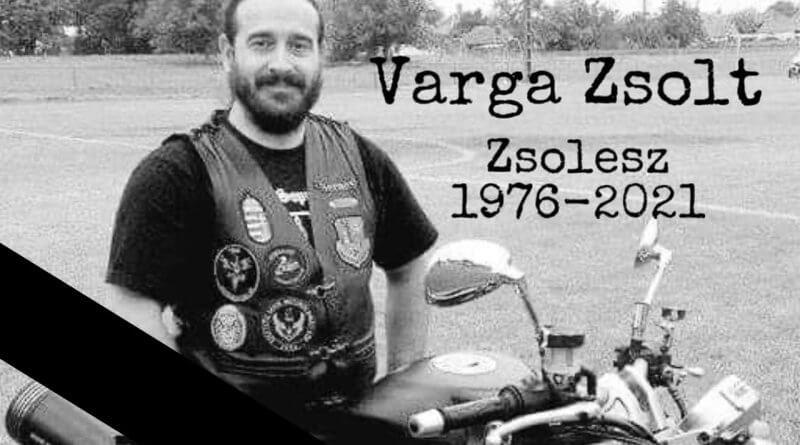 Varga Zsolesz temetése Országutak Lordjai Motoros Baráti Kör Sopron